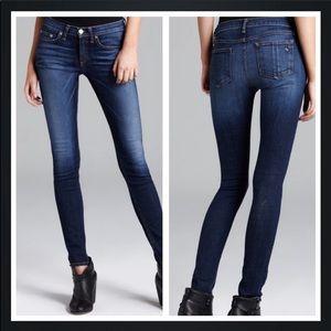 RAG & BONE High Rise Heritage Skinny Jeans size 32